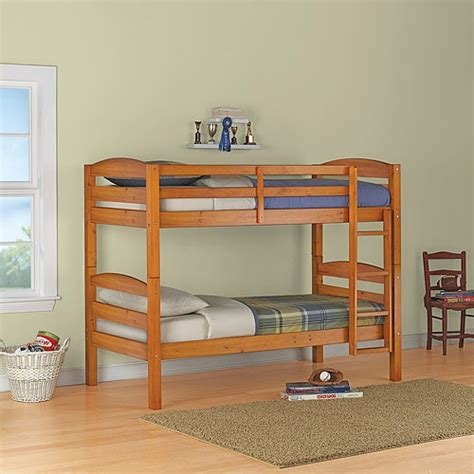 mainstays bunk bed mainstays wood bunk bed finishes