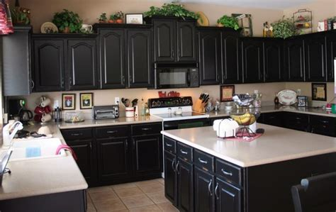 black kitchen cabinet black cabinets