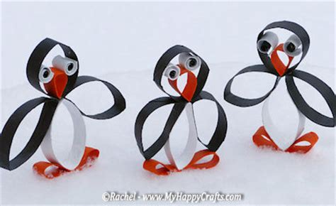 penguin toilet paper roll craft 25 penguin projects for about family crafts