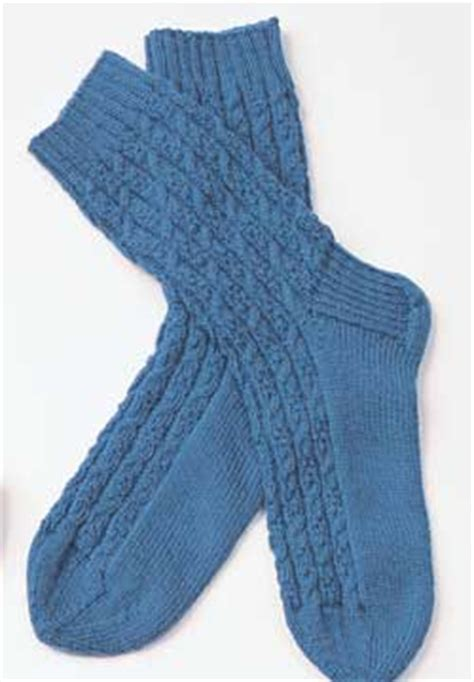 mens sock pattern knitting cable socks for knitting pattern favecrafts