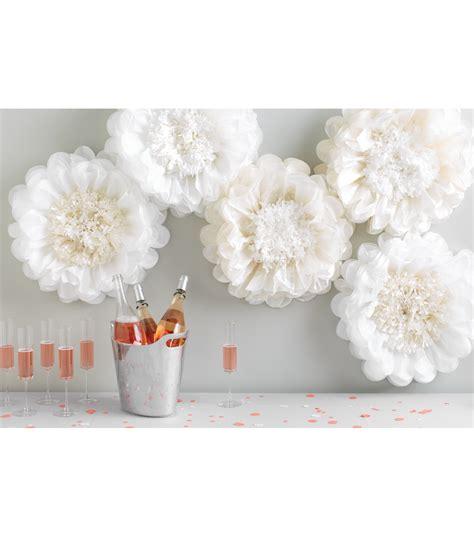 martha stewart crafts paper flowers martha stewart tissue paper pom pom kit white flower