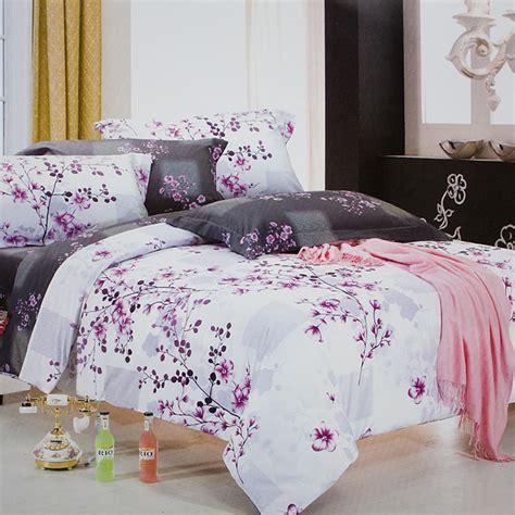 plum king comforter set blancho bedding plum in snow 100 cotton 4pc comforter