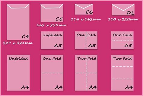 card sizes for card paper card and envelope sizes createandcraft