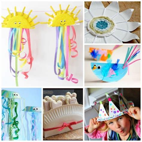paper plate arts and crafts for frozen paper plate craft invitations ideas