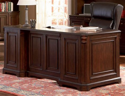 home office executive desks home office executive desk in rich finish by coaster