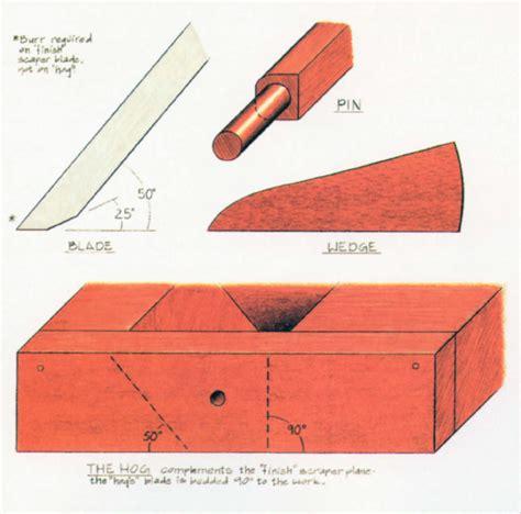 best woodworking blogs make a scraper plane popular woodworking magazine