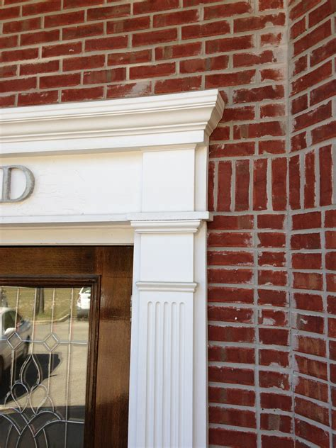 exterior door moulding exterior moulding southeastern door and window biloxi