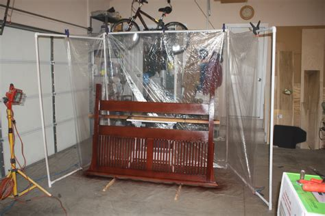 woodworking spray booth makeshift spray booths by simonskl lumberjocks