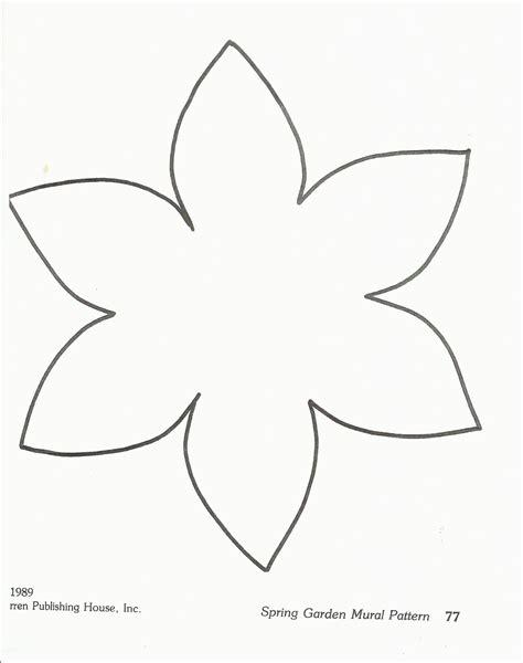 flower paper craft template flower template preschool http squishideasforpreschool