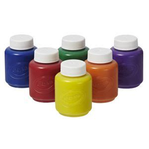 acrylic paint washable crayola washable paints for 6 pack officeworks