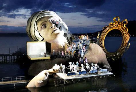 festival in austria bregenz festival opera on the lake austria