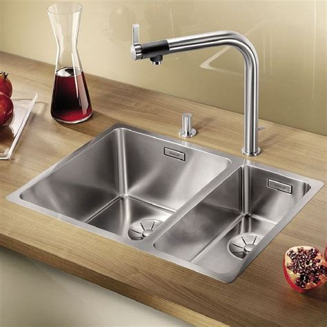 kitchen sink pack blanco andano 340 180 if a la carte kitchen sink and tap