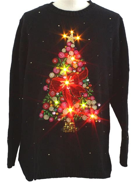 Sweaters With Lights And by Led Sweater Sweater And Boots