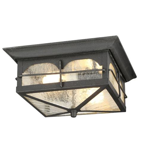 ceiling outdoor lighting home decorators collection brimfield 2 light aged iron