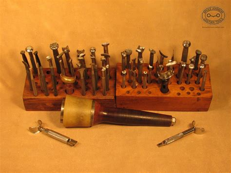 tools for sale vintage leather tools for sale bruce johnson leather