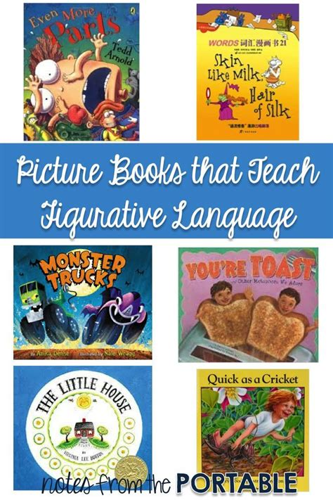 picture books to teach figurative language 66 best images about language arts children s stories that