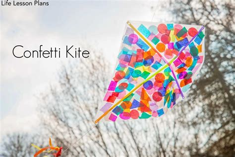 kite crafts for how to make a kite confetti kite crafts