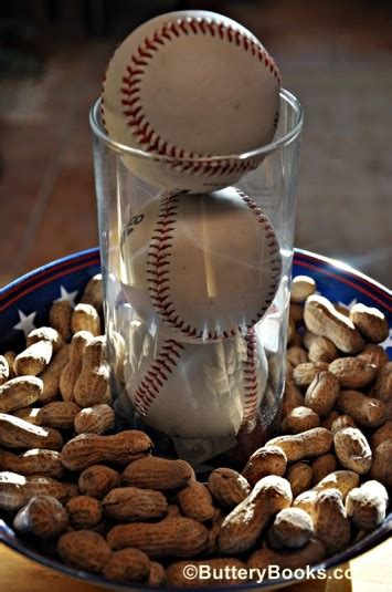 baseball centerpieces for tables these baseball centerpieces are a home run b lovely events