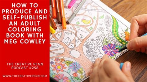self publish picture book how to self publish an coloring book with meg cowley