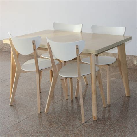 birch dining table and chairs ikea style birch dinette table chair dining table and four