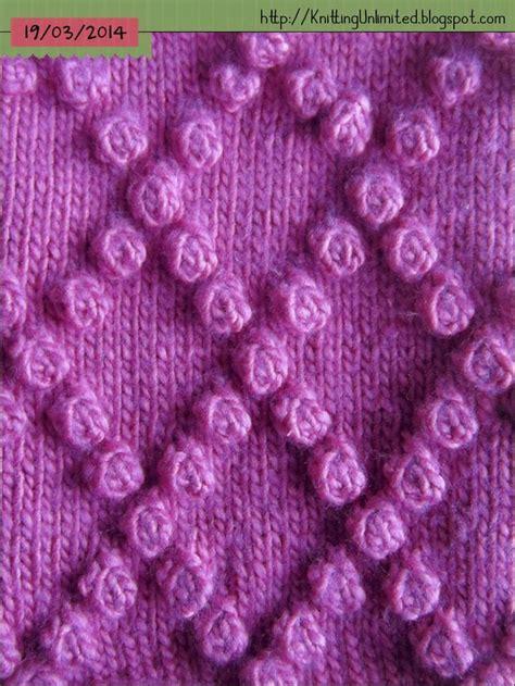 knitting bobble pattern bobble stitch knitting unlimited bobble stitch