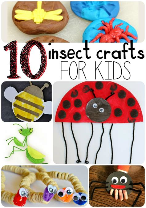 bug crafts for 10 insect crafts for