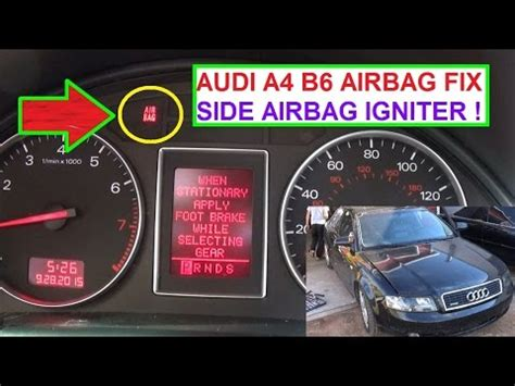 Audi Airbag Light by 06 Audi A4 Cabriolet Impact Sensor Wiring Diagram 49
