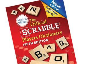 scrabble dicitionary scrabble dictionary adding 5 000 new words in edition