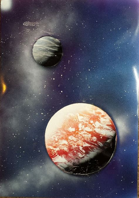 spray painting universe 21 best images about amazing spray paint on