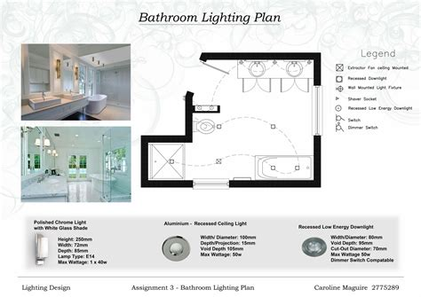bathroom lighting layout caroline maguire designs lighting
