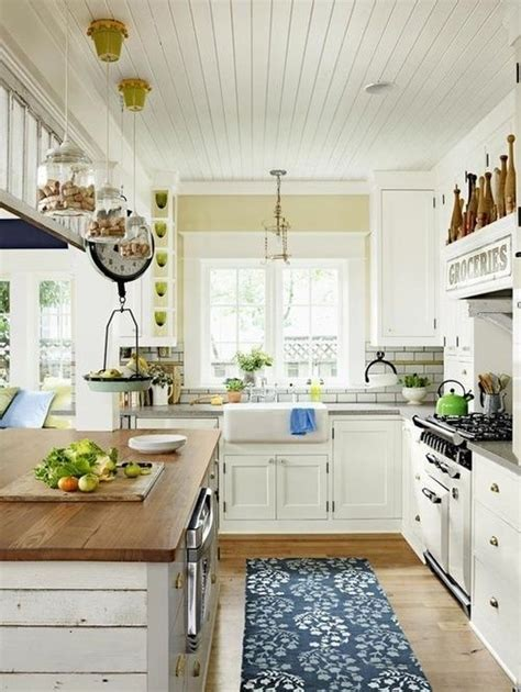 country chic kitchen ideas 35 cozy and chic farmhouse kitchen d 233 cor ideas digsdigs