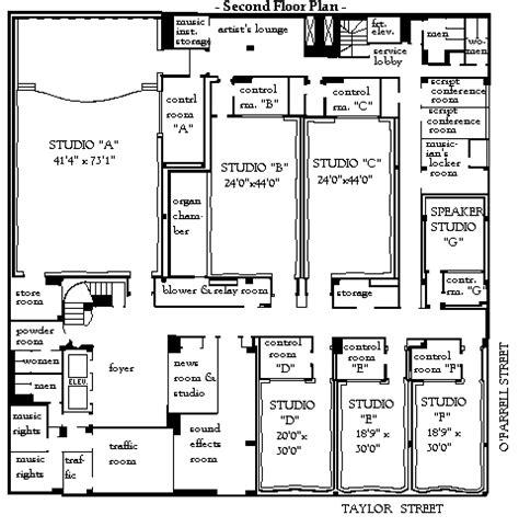 radio city floor plan san francisco radio