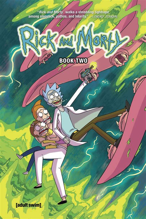 rick and morty hardcover book 1 preview rick and morty book 2 hardcover edition graphic