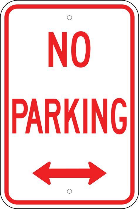 free no printable no parking signs cliparts co