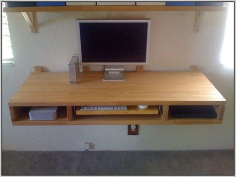 wall mount computer desk wall mounted desk ikea page home design ideas