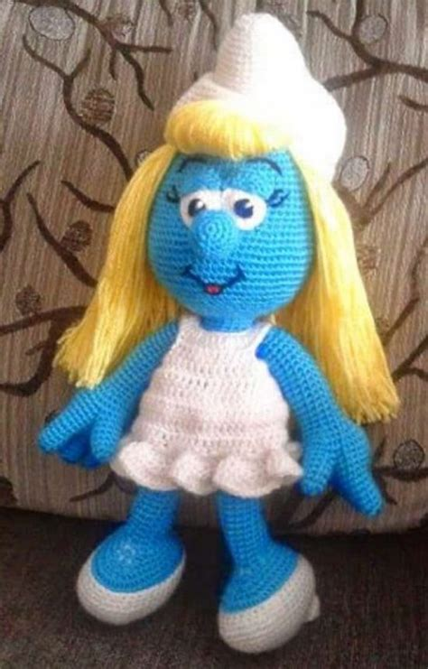 smurf knitting pattern smurf crochet ideas lots of free patterns the whoot