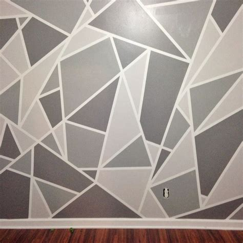 unique wall patterns 25 best ideas about wall paint patterns on