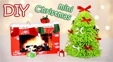 mini tree decorating ideas diy mini decorations tiny decor ideas