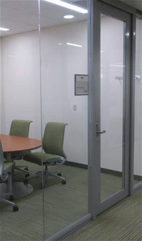 commercial interior glass door on through to the other side commercial glass