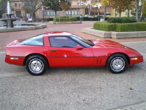 1986 chevrolet corvette information and photos momentcar