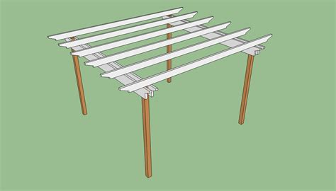 pergola blueprints free pergola plans free howtospecialist how to build step
