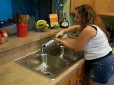 caulking around kitchen sink recommendation on how to caulk gaps between the countertop