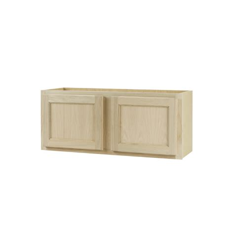 lowes cabinets unfinished shop continental cabinets inc 30 in w x 15 in h x 12 in d unfinished oak door kitchen