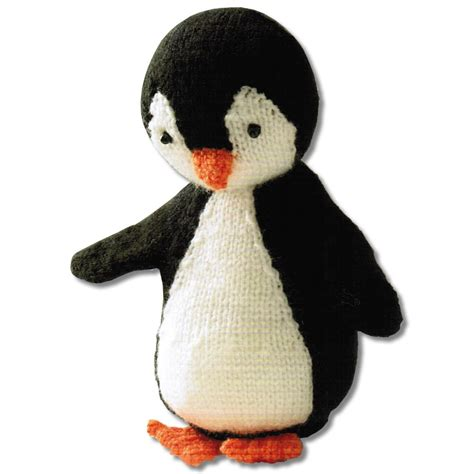 knitted penguin knit your own penguin kit crafty arts from craftyarts co