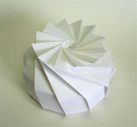 pretty origami paper 3d origami by jun mitani design milk