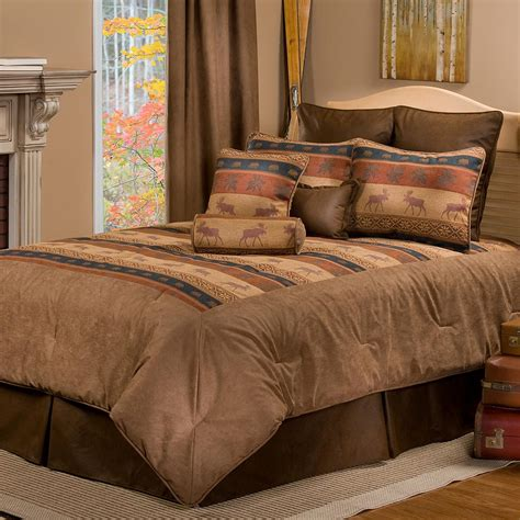 great bedding sets luxury pine cone bedding cabin place