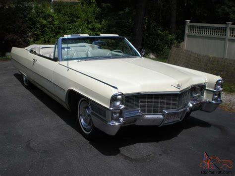 1965 Cadillac Convertible For Sale by 1965 Cadillac Convertible All Original Survivor Great Find
