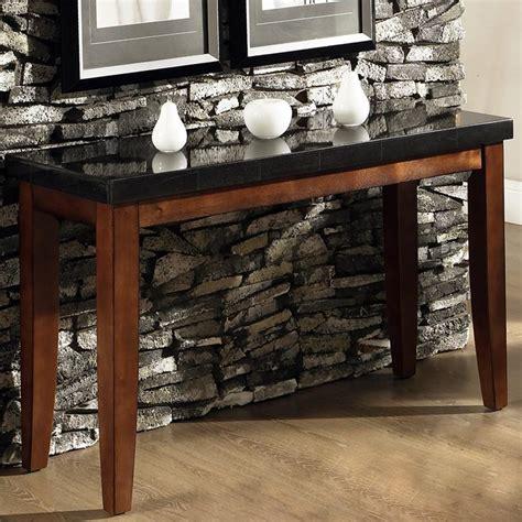 granite top sofa table steve silver granite bello granite top sofa table olinde