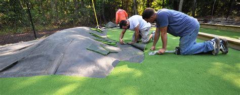backyard mini golf putting greens castle hill bronx ny 10473 synthetic turf