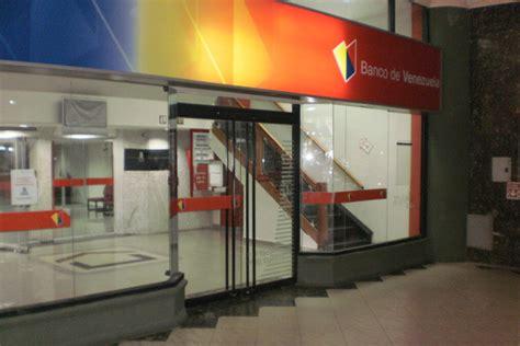 bancos en venezuela banco de venezuela l 237 a su red de oficinas comerciales